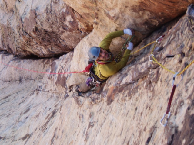 Ahad Sabet on the incredible 3rd pitch of Crimson Crysalis on the Cloud Tower