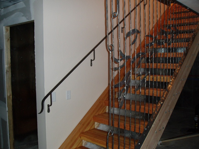 Stair Rail and Iron Insert