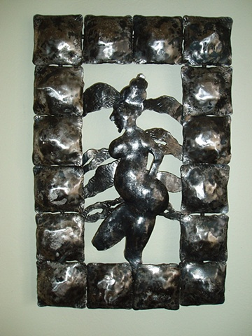 Forged Iron Sculpture