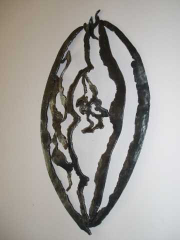 African Shield / Wall Sculpture