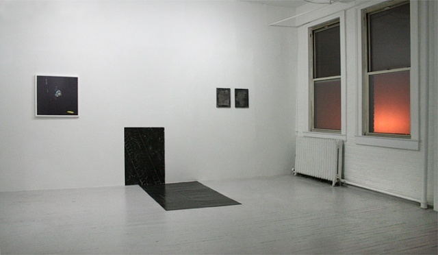 "Installation shot from ""Street Level"" at Nudashank, Baltimore"