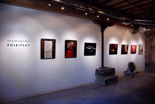 "Installation shot from ""Role / Play"""
