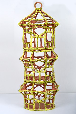 Large Yellow Birdcage