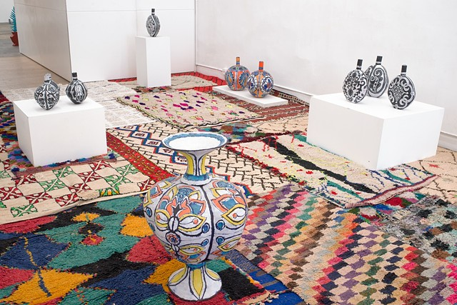 Elisabeth Kley Ceramic Anthology/Magic Flying Carpets of the Berber Kingdom of Morocco