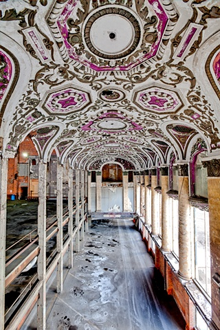 urban decay photography urbex beautiful deconstruction theater detroit