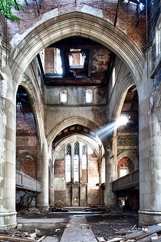 urban decay photography urbex beautiful deconstruction church gary