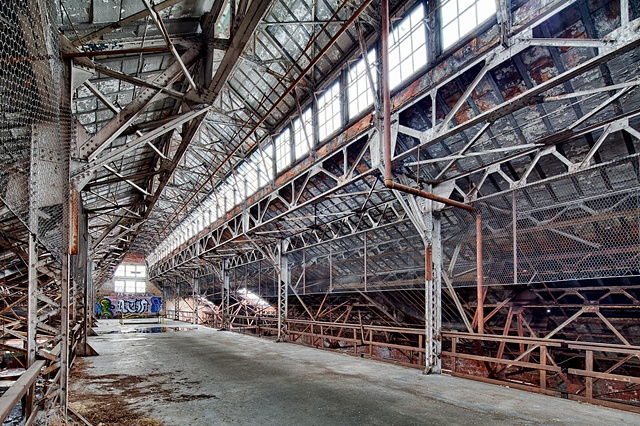 urban decay photography urbex beautiful deconstruction factory oreo cleveland