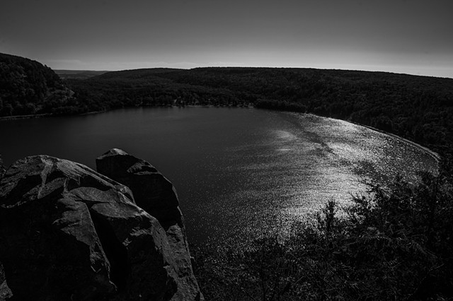 devil's lake-west bluff
