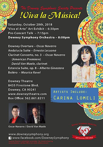 Downey Symphony Presents: Viva la Musica!