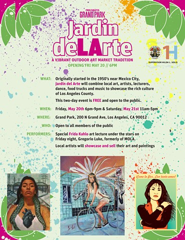 2 Annual Jardin deLArte: Recentering Los Angeles Art and Artists Art Fair