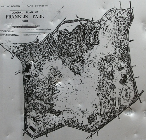 Map of Franklin Park