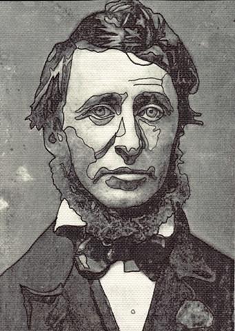 Thoreau Drawing