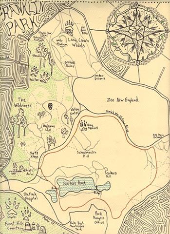 Franklin Park Map