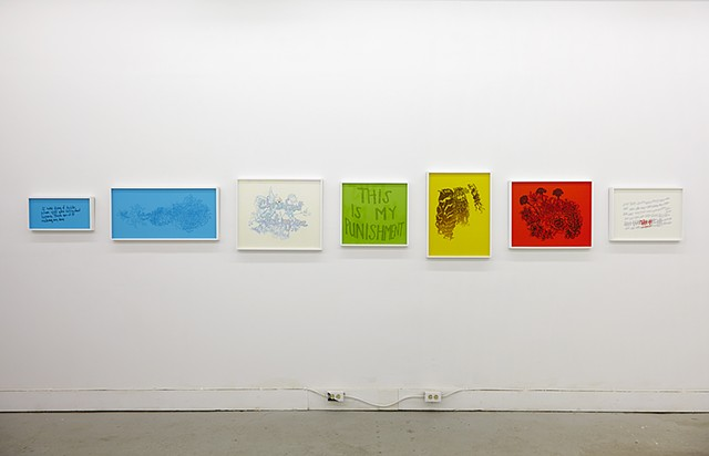 Lisa Neighbour, G Gallery, This Is My Punishment Installation View