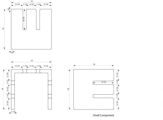 Small Component Dimensions
