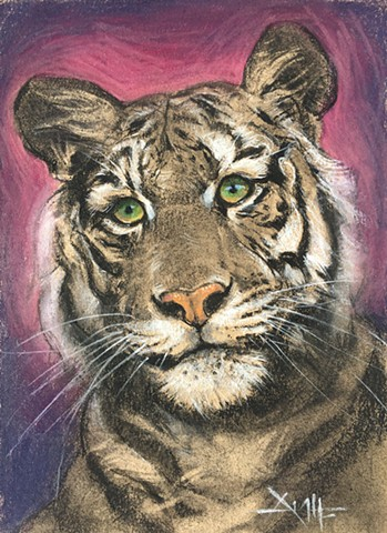 Wildlife in Pastel