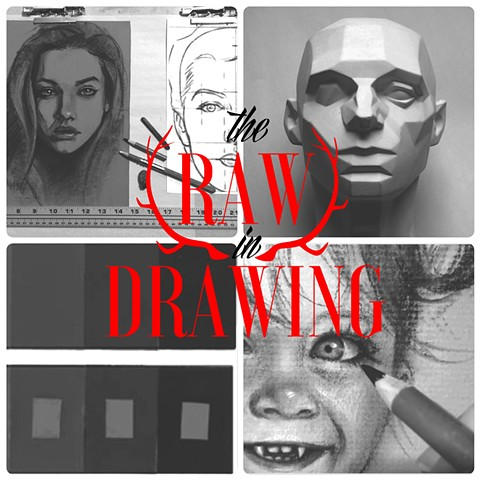 the Raw in Drawing LOS ANGELES   April 11, 2015 1 day charcoal drawing workshop  SOLD OUT  *Please check Instagram for upcoming workshop dates*