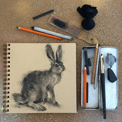 Hare + Charcoal Materials
