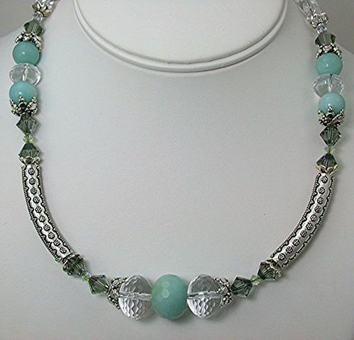 Amazonite and Bali Silver