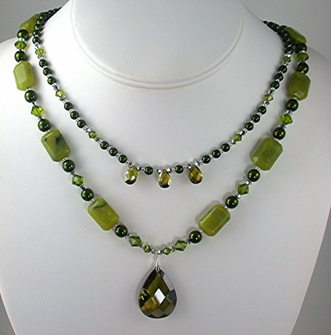 Jade and Cubic Zirconia