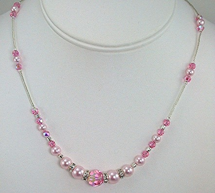 Swarovski Crysatl Faceted Round with Pearls