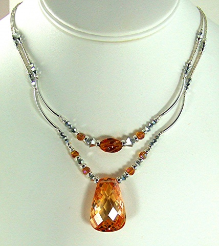 Cubic Zirconia and Silver