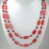 Salmon Shells and Pearls