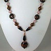 Vintage Murano Style Glass and Onyx