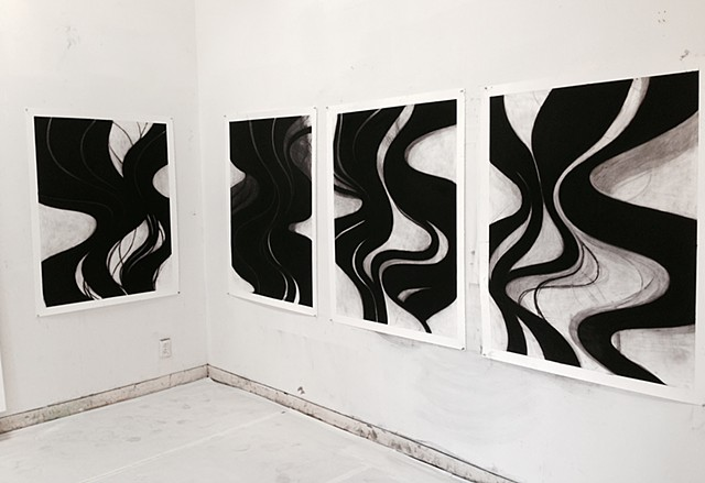 Manifold series studio installation