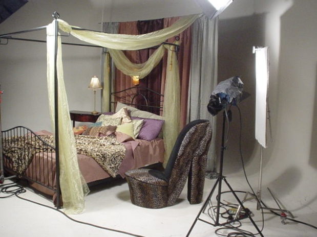 Photo studio set