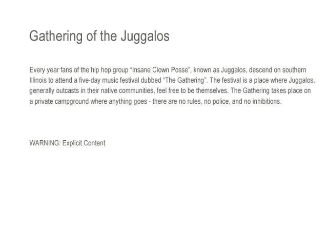 Jason Paul Roberts, Gathering of the Juggalos, GOTJ, 2012, Juggalo, Juggalette, 13th Annual, ICP, Insane Clown Posse, Illinois, Leica, Leica M9, Leica M9-P