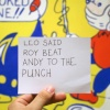 Leo Said Roy Beat Andy To The Punch