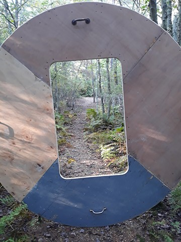 Portable Window in the Pine Barrens