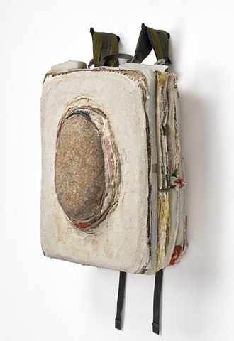 Backpack, side view