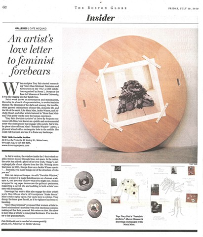 Review in the Boston Globe
