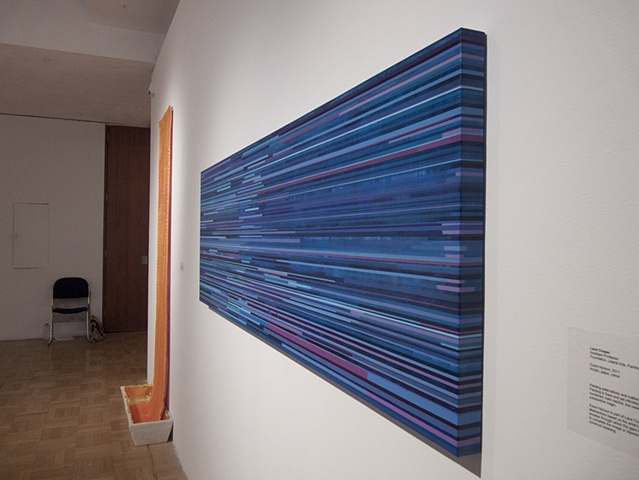 Event Horizon (Installation view from Cleveland Institute of Art Faculty Show 2011)