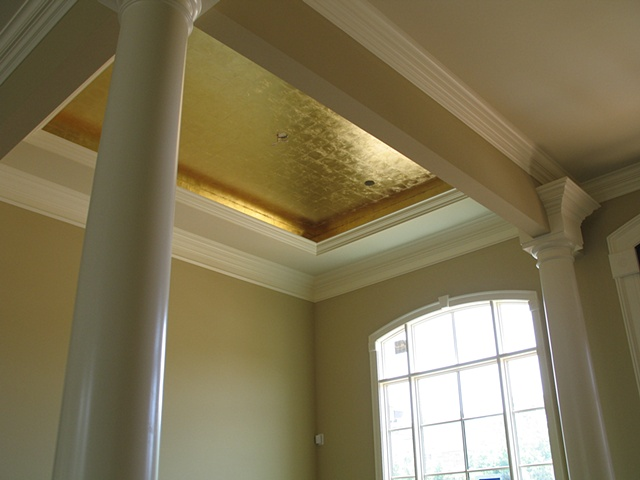 Gilded ceiling