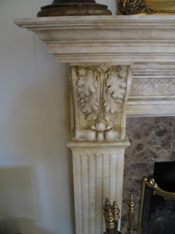 Faux weathered marble