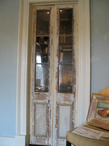 Painted Yellow Pine doors