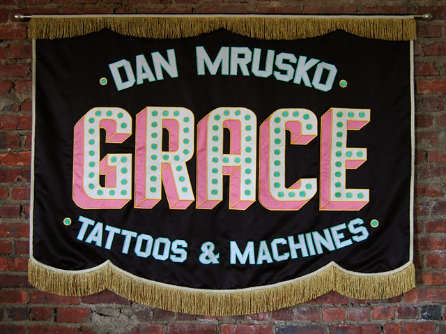 For Dan Mrusko Grace Tattoo Phenoxville, PA