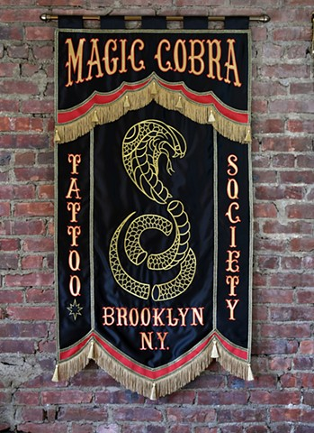 For Magic Cobra Tattoo Brooklyn, NY
