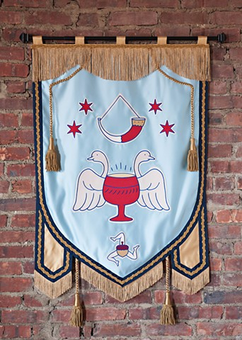 For Cherry Circle Room Bar  Chicago, Illinois Banner Design Credit: Double Day & Cartwright NYC