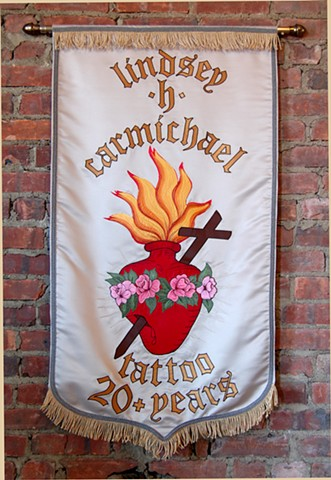 Banner for L. Carmichael Gold Rush Tattoo Costa Mesa, CA