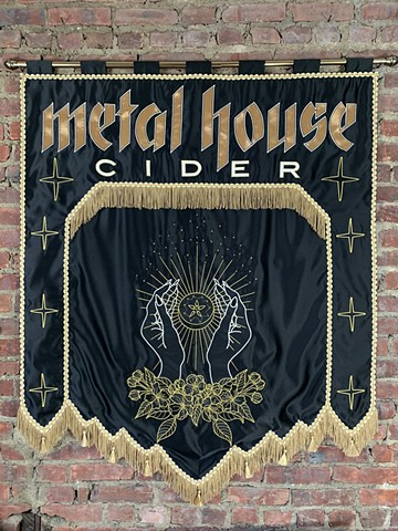 For Metal House Cider
