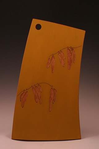 Cutting Board (Seed Pods)