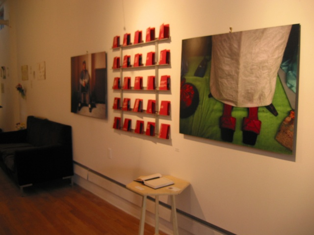 installation at asterisk gallery, brooklyn view 2