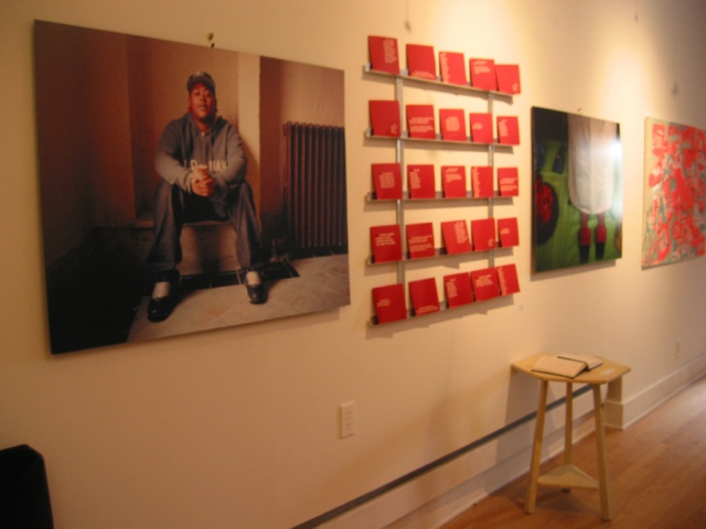installation at asterisk gallery, brooklyn view 1