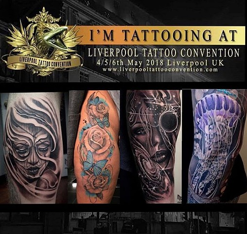 LIVERPOOL TATTOO CONVENTION - MAY 2018