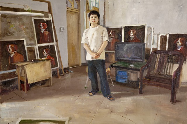Painter #5 (Huang Wenlong)