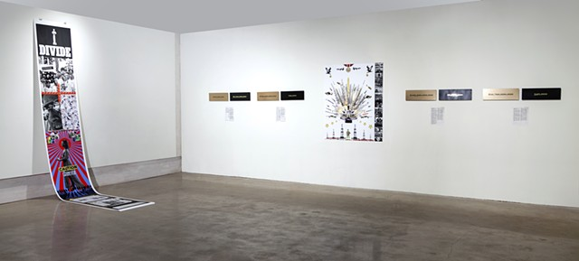 Reading Between the Lines, Exhibition View
